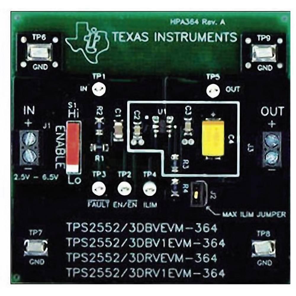 Razvojna plošča Texas Instruments TPS2552DRVEVM-364