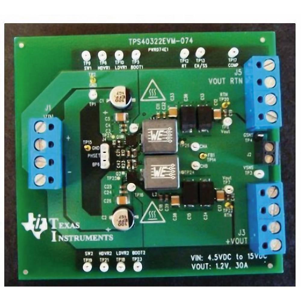 Razvojna plošča Texas Instruments TPS40322EVM-074