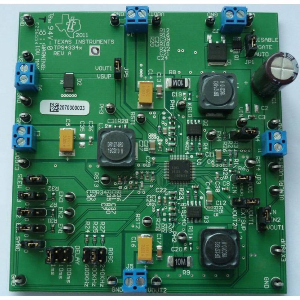 Razvojna plošča Texas Instruments TPS43340EVM