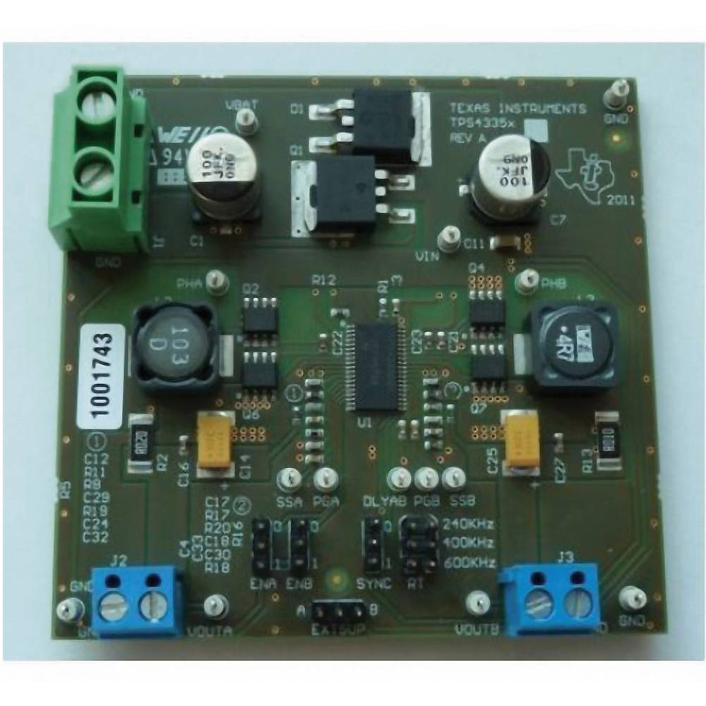 Razvojna plošča Texas Instruments TPS43350EVM