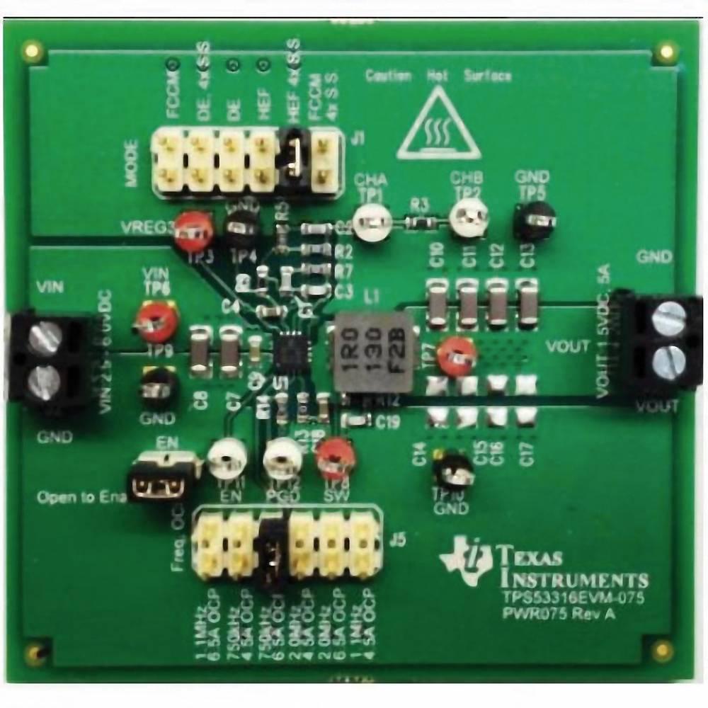 Razvojna plošča Texas Instruments TPS53316EVM-075