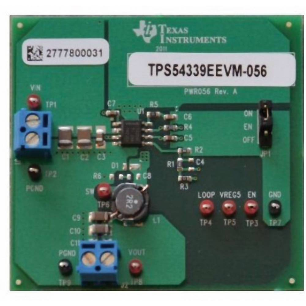 Razvojna plošča Texas Instruments TPS54339EEVM-056
