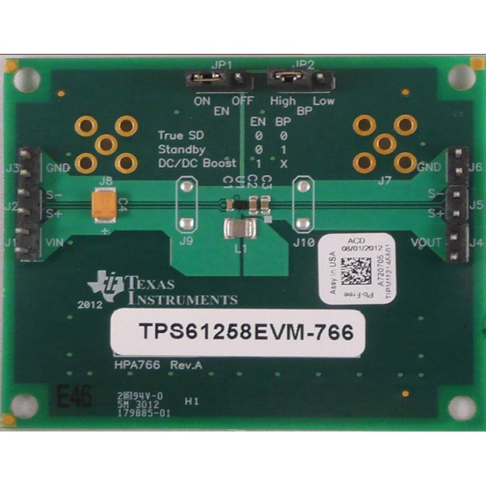 Razvojna plošča Texas Instruments TPS61258EVM-766