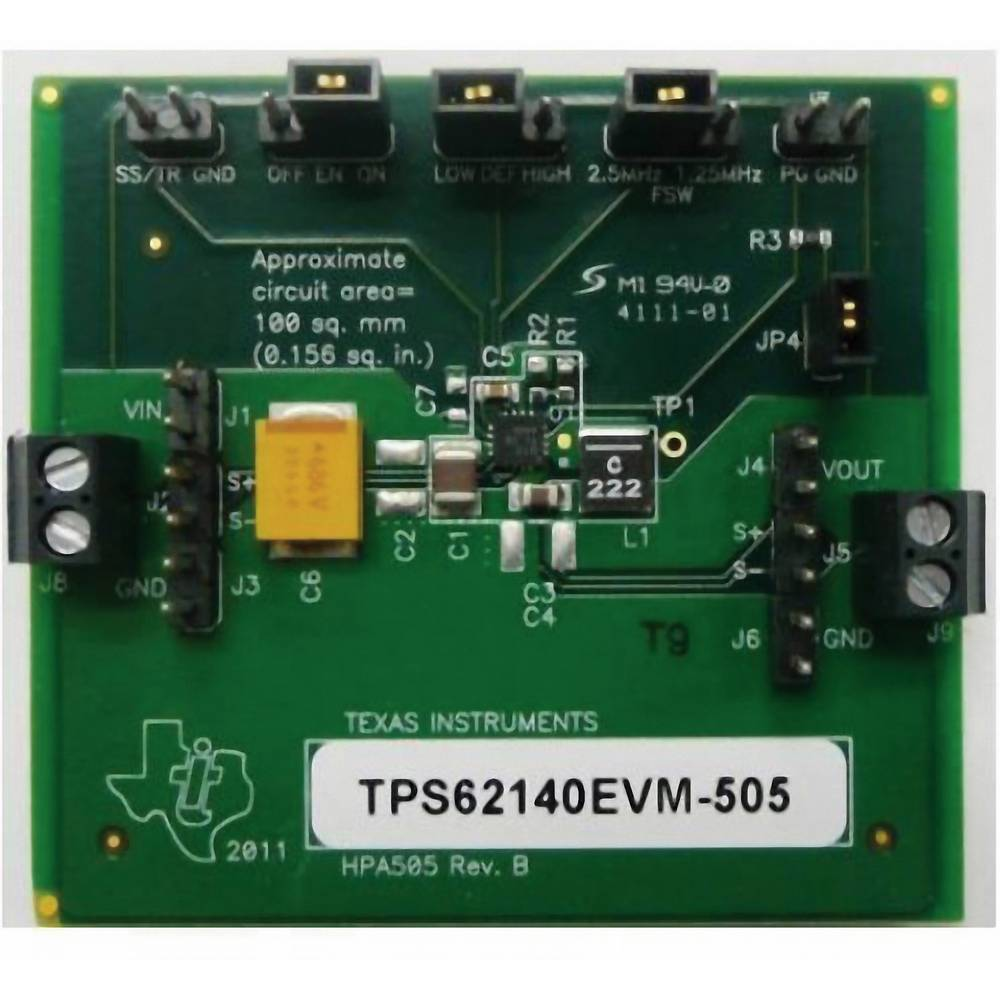 Razvojna plošča Texas Instruments TPS62140EVM-505