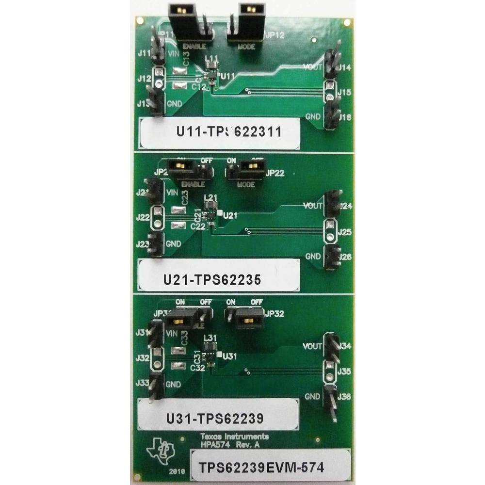 Razvojna plošča Texas Instruments TPS62239EVM-574
