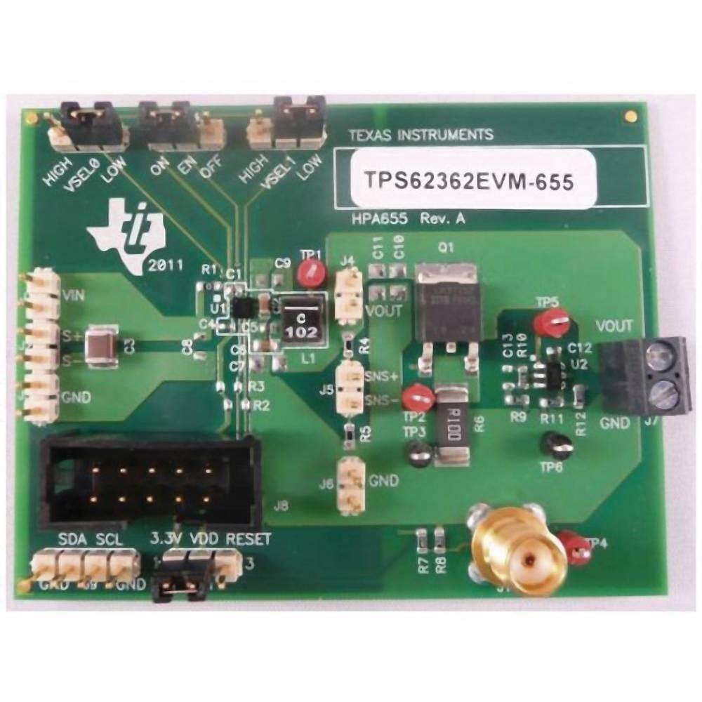 Razvojna plošča Texas Instruments TPS62362EVM-655
