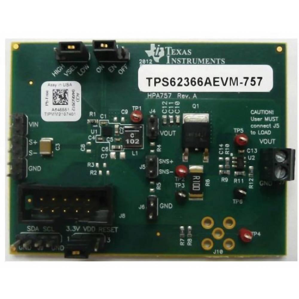 Razvojna plošča Texas Instruments TPS62366AEVM-757