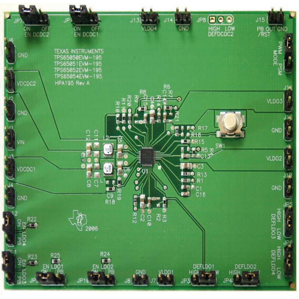 Razvojna plošča Texas Instruments TPS65052EVM-195