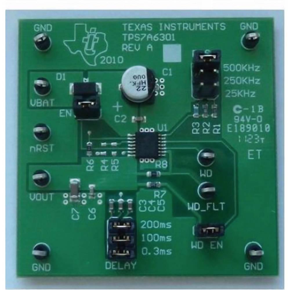 Razvojna plošča Texas Instruments TPS7A6301EVM