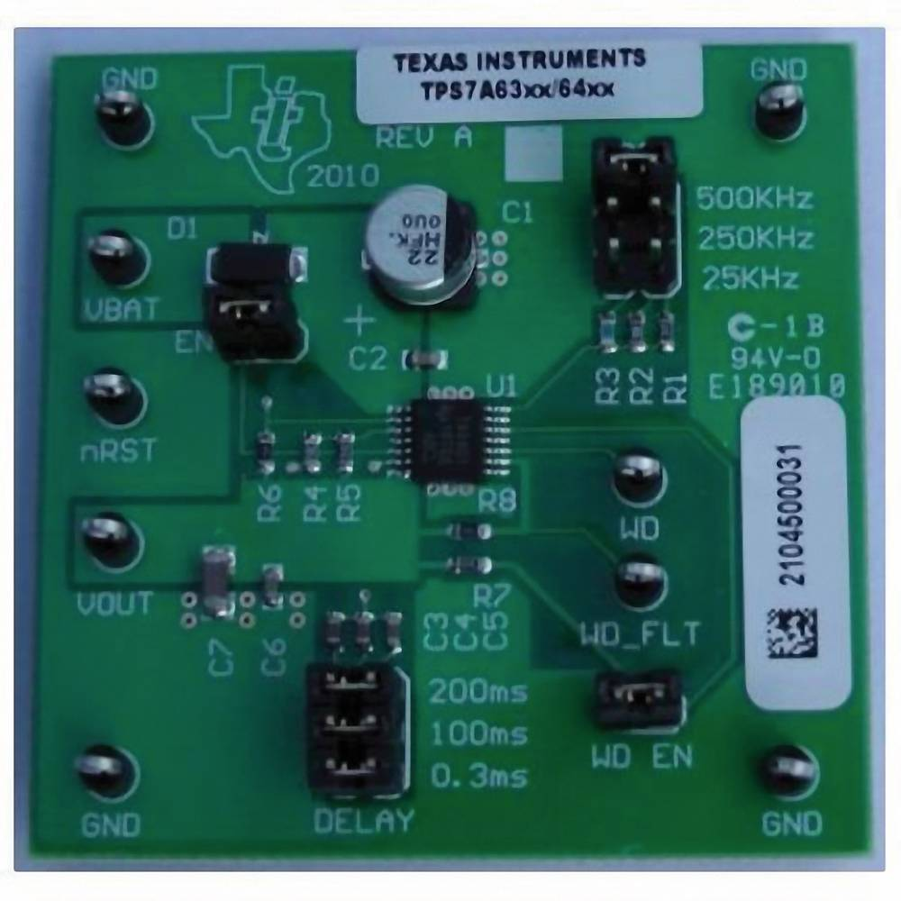 Razvojna plošča Texas Instruments TPS7A6333EVM