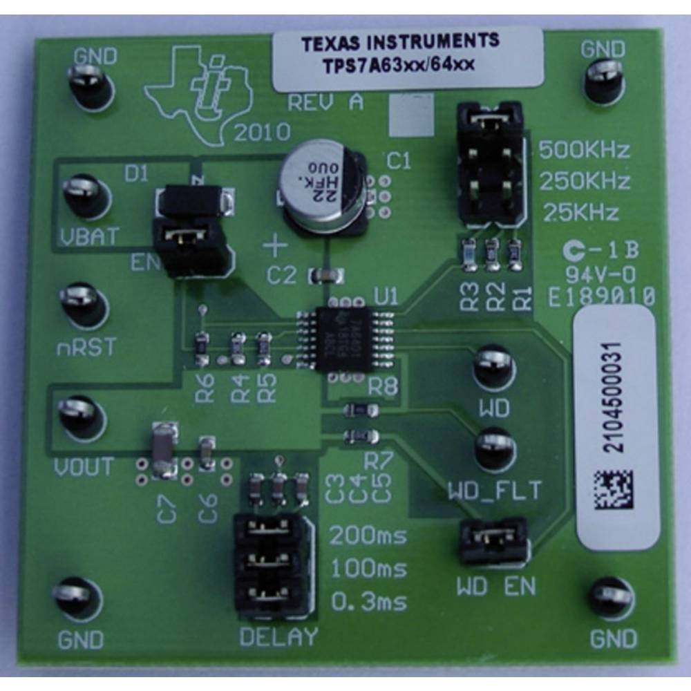 Razvojna plošča Texas Instruments TPS7A6350EVM
