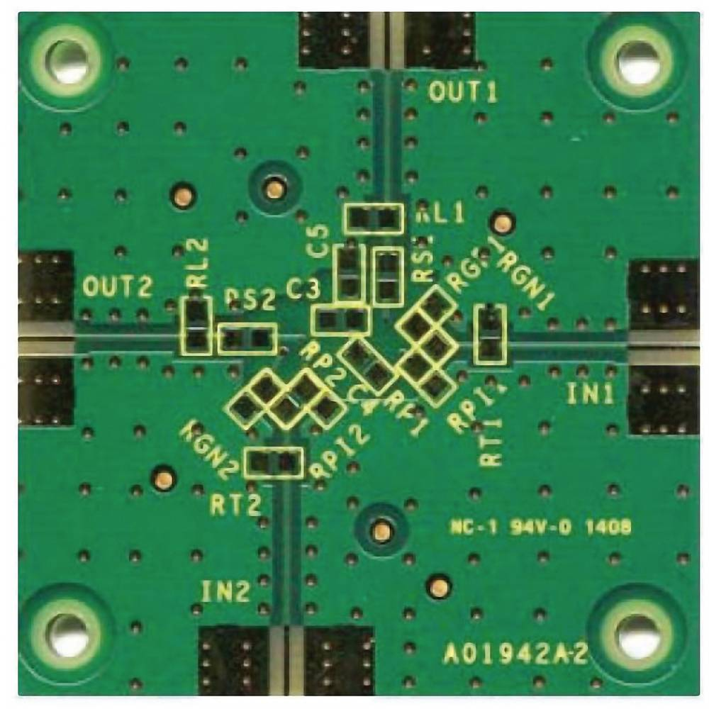 Tiskana pločica (neopremljena) Analog Devices ADA4841-2YRM-EBZ