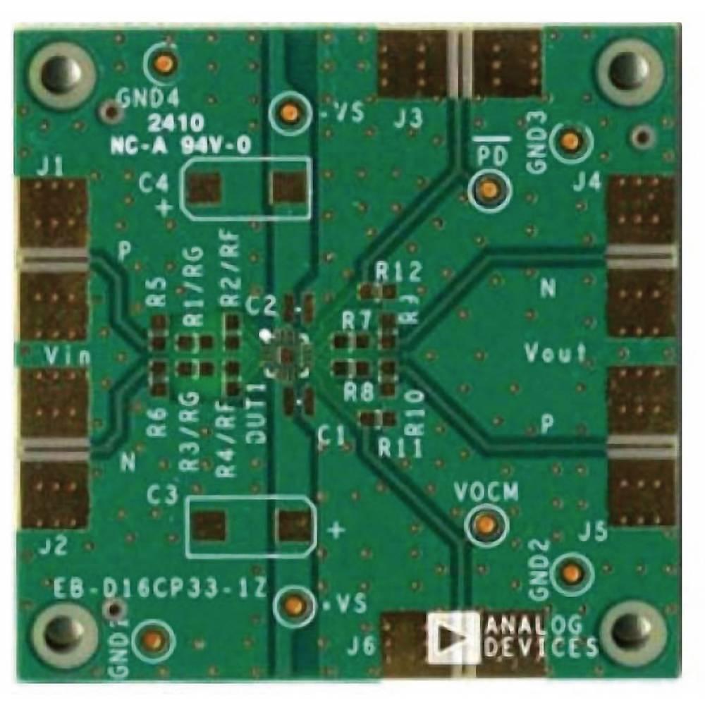 Tiskana pločica (neopremljena) Analog Devices ADA4939-1YCP-EBZ