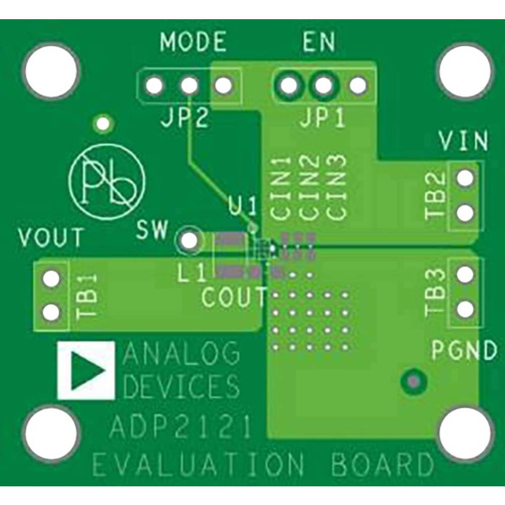 Razvojna ploča Analog Devices ADP2121-1.82-EVALZ