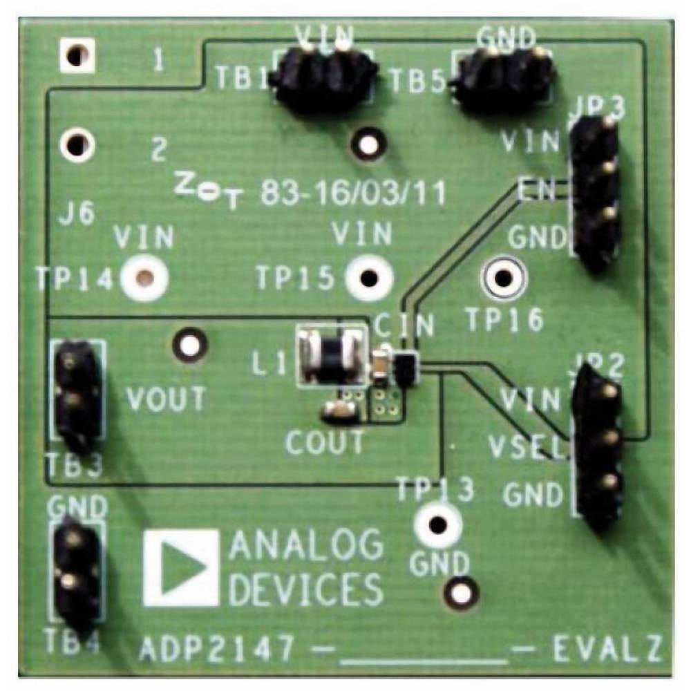 Razvojna ploča Analog Devices ADP2147CB-170EVALZ