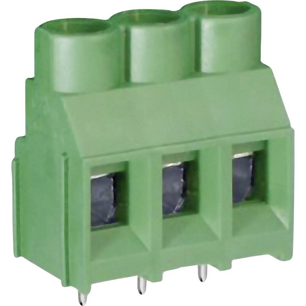Skrueklemmeblok DECA MB910-635M02 5.26 mm² Poltal 2 Grøn 1 stk