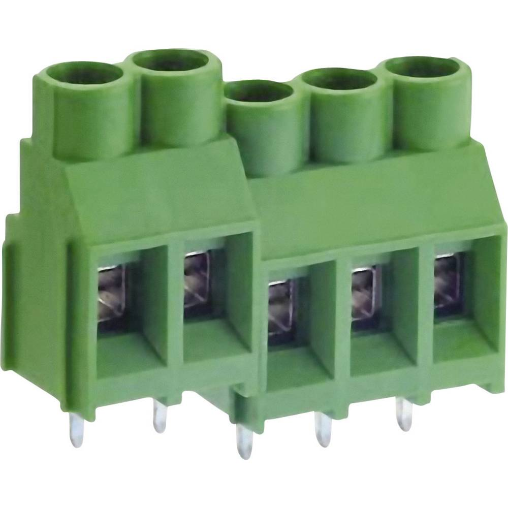 Skrueklemmeblok DECA MB912-635M03 5.26 mm² Poltal 3 Grøn 1 stk