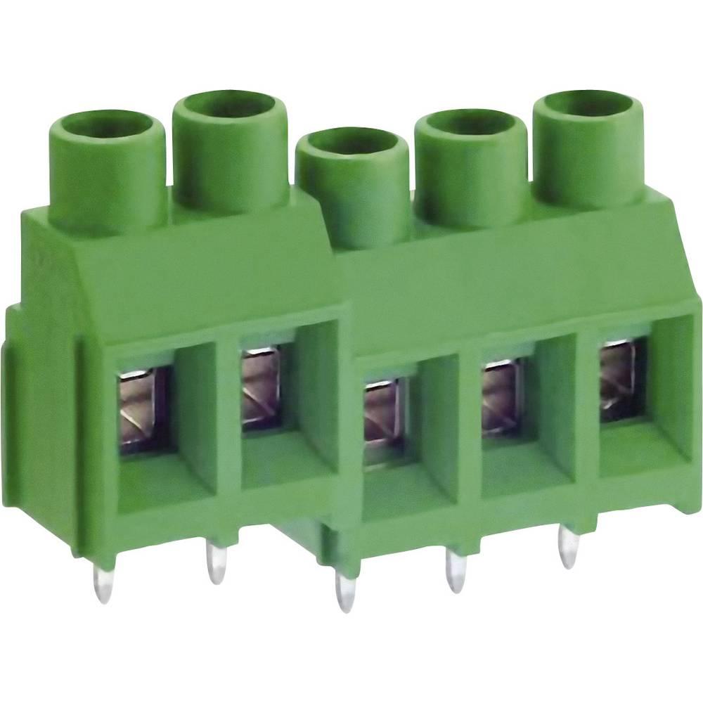 Skrueklemmeblok DECA MB912-762M02 5.26 mm² Poltal 2 Grøn 1 stk
