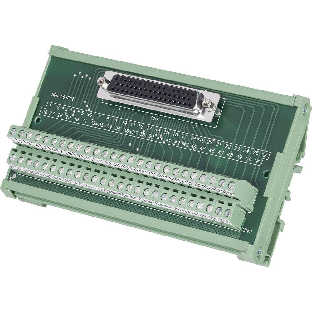 D-SUB Prenosni modul št.polov: 15 MOD-15-F DECA vsebina: 1 kos