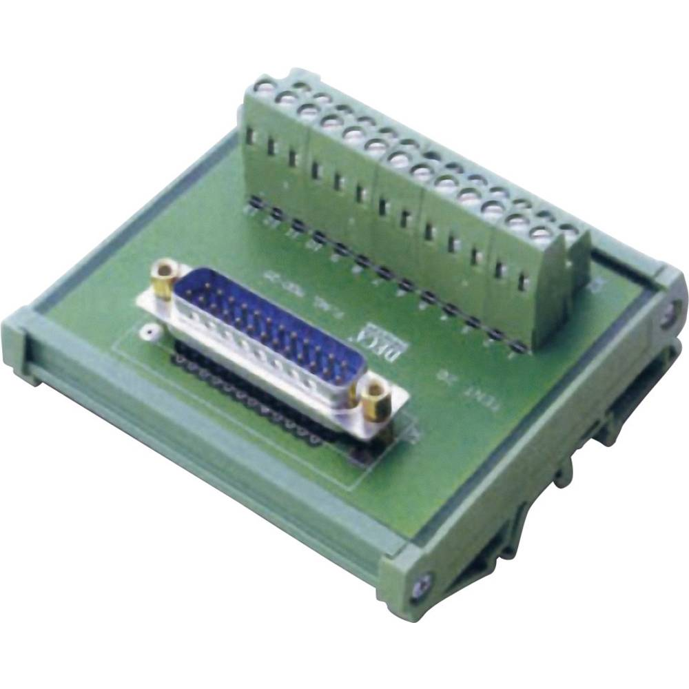D-SUB Prenosni modul št.polov: 25 MOD-25-M DECA vsebina: 1 kos