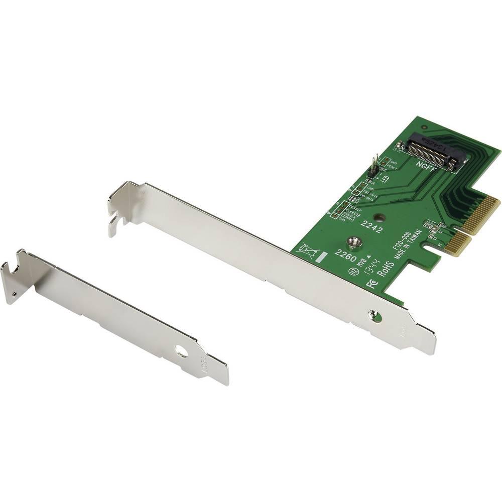 PCIe NGFF niskoprofilni glavni adapter M.2