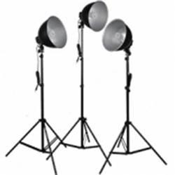 Foto svetilka Walimex Studioset Daylight 150/150/150 B 25 W