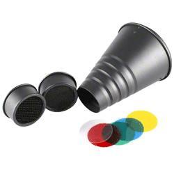 Walimex Universal Set Hensel nastavek za reflektor (Ø x D) 6 cm x 20 cm 1 kos