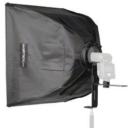 Softbox Walimex Pro Softbox 60x60cm für Kompaktb Längd=720 mm