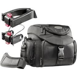 torba za kamero Mantona Premium Biker + 2 Notranje mere (Š x V x G) 210 x 190 x 100 mm montaža na krmilo