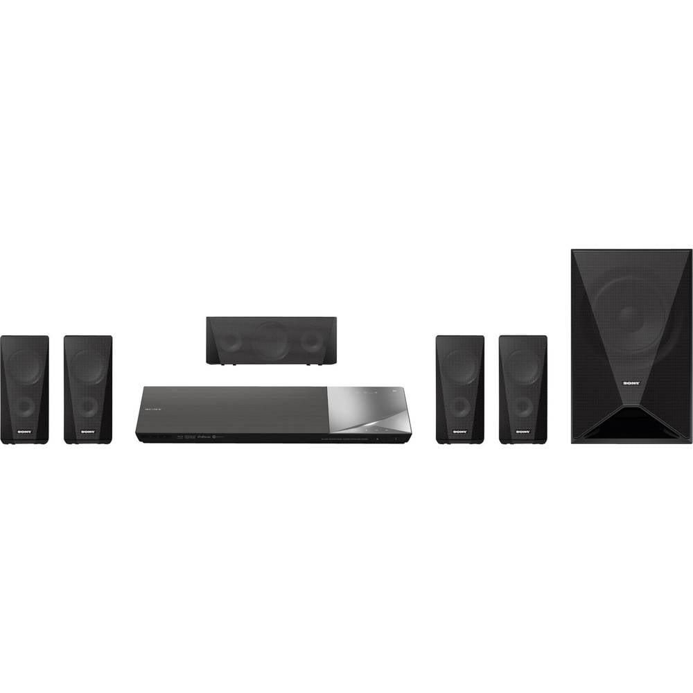 Sony BDV-N5200W 3D Blu-ray 5.1 sistem za domači kino, 1000 W, črn BDVN5200WB.CEL