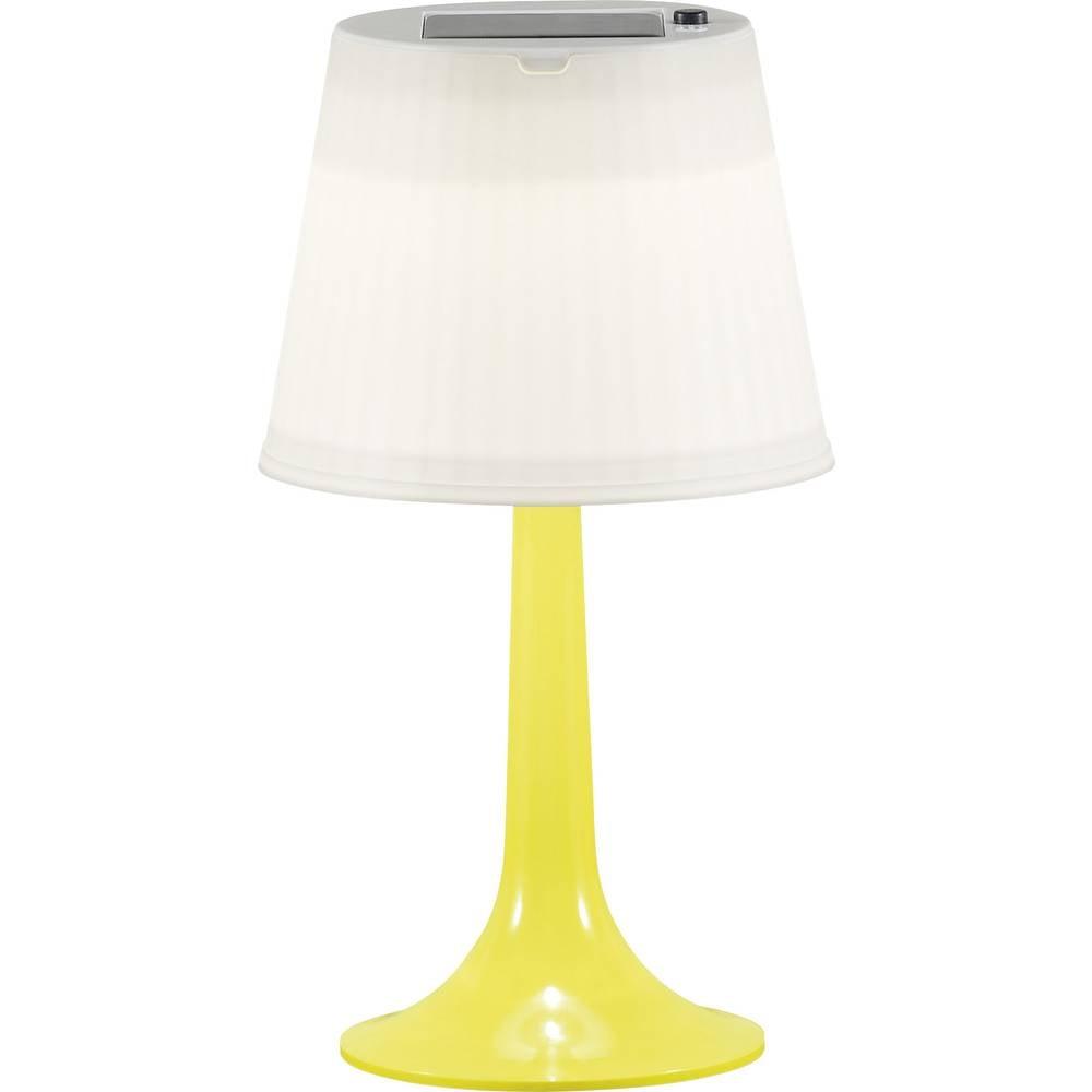 Solarna vrtna luč LED 0.5 W nevtralna bela Konstsmide Assis Sitra rumena