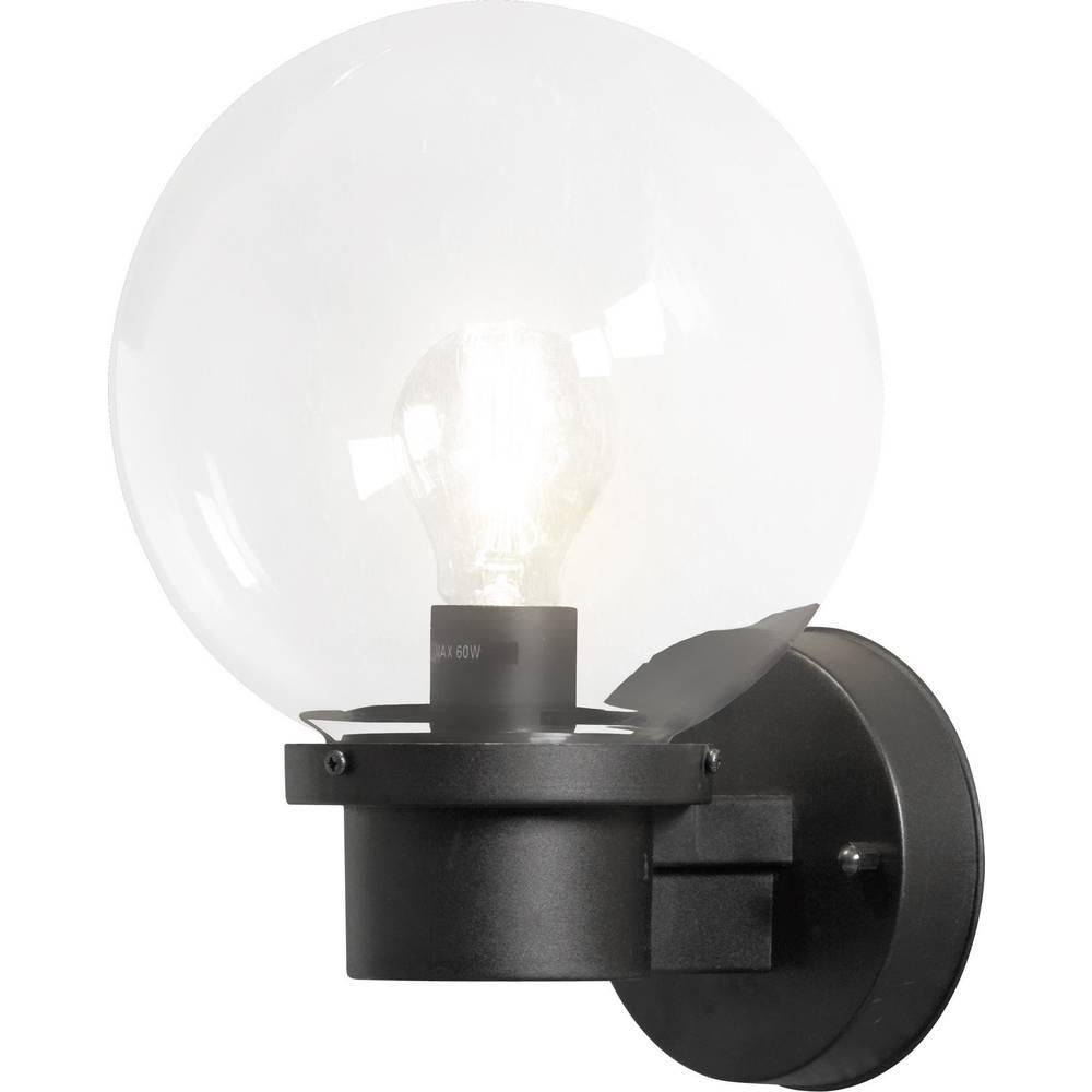 Zunanja stenska svetilka Konstsmide Nemi Twighlight, E27, črna, steklo, 7322-750