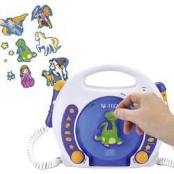 Barn CD-spelare X4 Tech Bobby Joey Blå