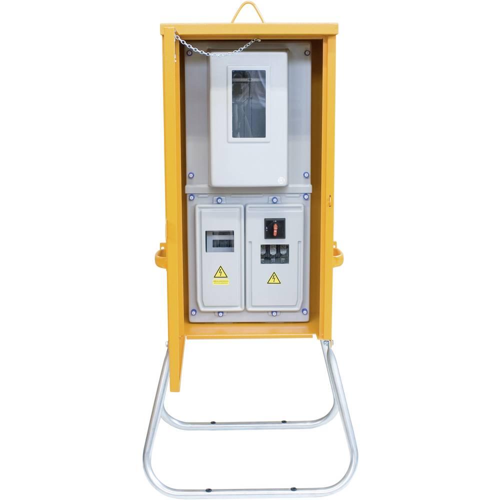 Priključna omarica PCE Merz MZ69016 M-A 80 55 kVA klešče 6-35 mm Cu klešče 35 mm, 4-žična 400 V