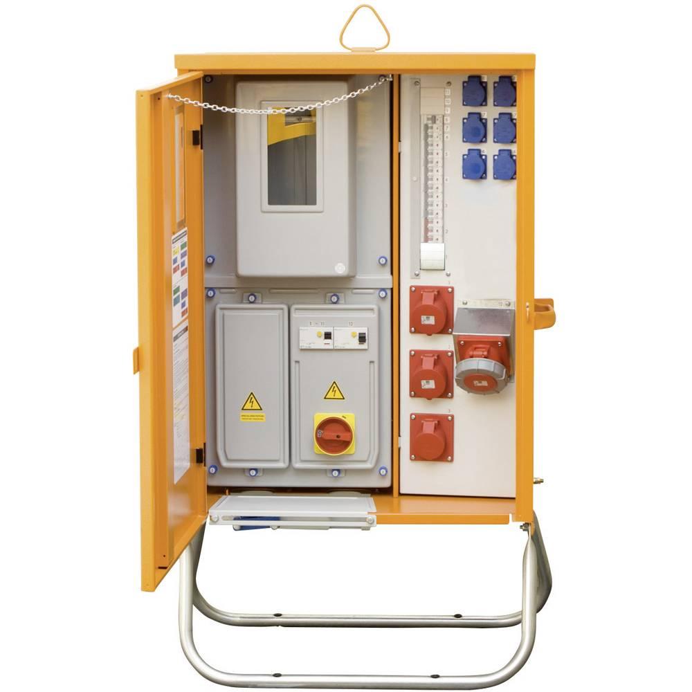 Priključna razdelilna omarica PCE Merz MZ69007 M-AVEV 63/211-6/V2 44 kVA klešče 6-35 mm Cu 63 A klešče 35 mm, 4-žična 400 V