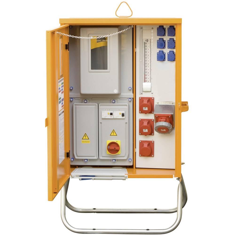Priključna razdelilna omarica PCE Merz MZ69003 M-AVEV 63/21-6/V2 44 kVA klešče 6-35 mm Cu 63 A klešče 35 mm, 4-žična 400 V