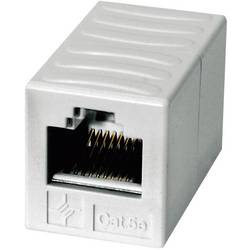 RJ45 (value.1258279) Netværk Adapter Telegärtner CAT 5e [1x RJ45-Buchse (value.1390951) - 1x RJ45-Buchse (value.1390951)] 0 m Al