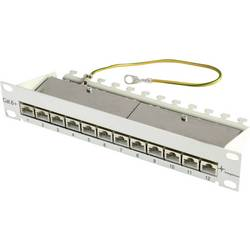 Omrežni patch panel 10 CAT 6A 12 vrat 1U Telegärtner J02022A0057