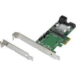 mSATA RAID 3x SATA + mSATA Low Profile PCIe kartica