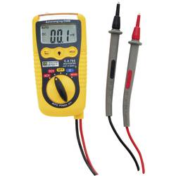 Ročni mulitmeter Chauvin Arnoux C.A 702 kalibracija narejena po: delovnih standardih,