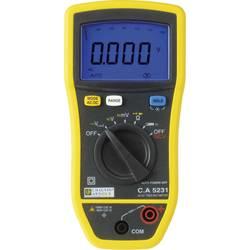 Ročni mulitmeter Chauvin Arnoux C.A 5231 kalibracija narejena po: delovnih standardih,