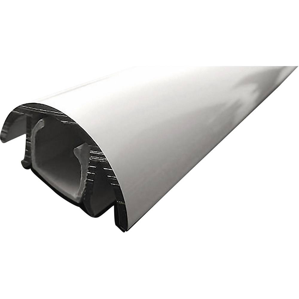 ALUNOVO Mini aluminijast kabelski kanal (D x Š x V) 200 x 30 x 15 mm bela (svetleč) Alunovo vsebina: 1 kos