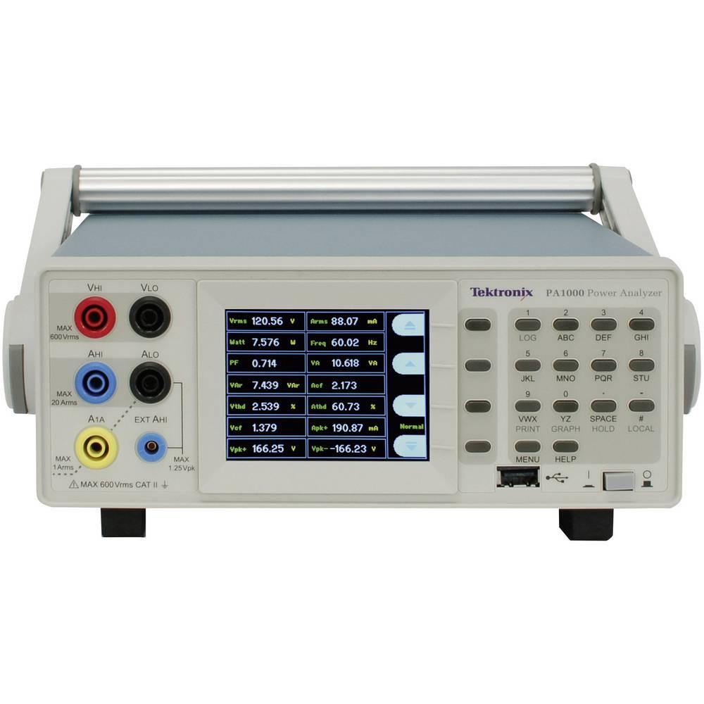 Namizni multimeter Tektronix Tektronix PA1000 kalibracija narejena po: delovnih standardih,