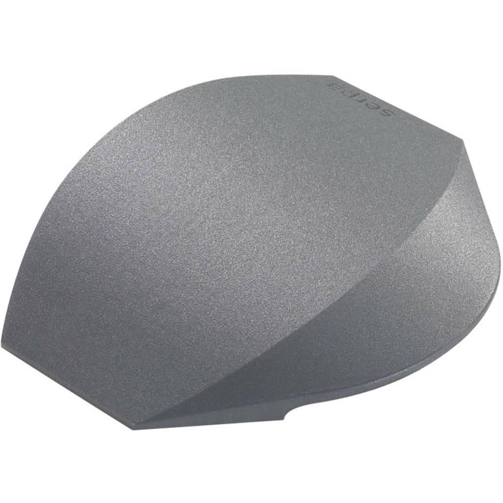 Zaključna kapica temno-siva Serpa vsebina: 2 kos