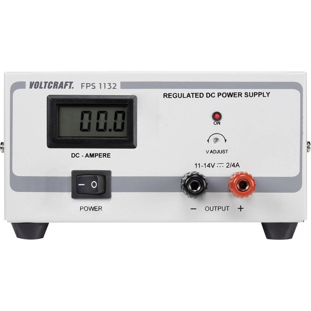 Laboratorijski napajalnik, s stalno napetostjo VOLTCRAFT FPS-1132 11 - 14 V/DC 2 - 4 A 28 W število izhodov: 1 x