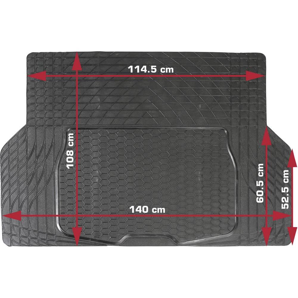DINO Univerzalni otirač za prtljažnik, (D x Ĺ ) 108 cm x 140 cm, crni 130026