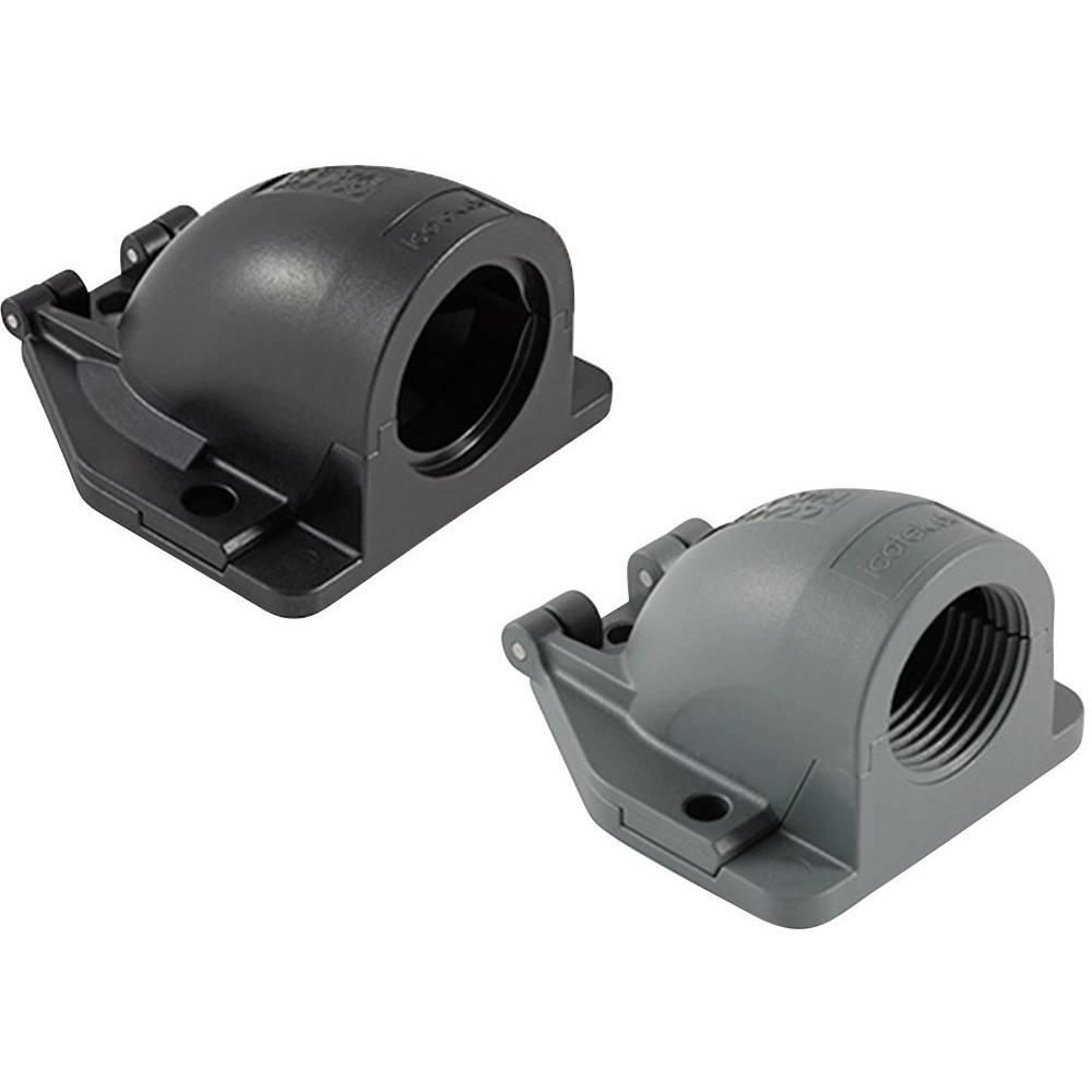 Kabelska uvodnica, kotna črne barve Icotek 31416.900 1 kos