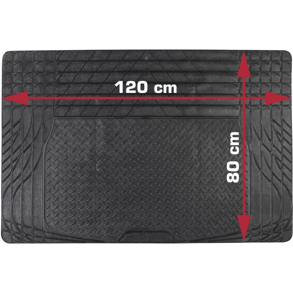 Universal bagagerumsmåtte, som kan tilskæres DINO Kofferraummatte Universal -Zuschneidbar- 120x80cm Sort