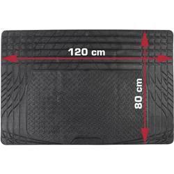 DINO Univerzalna podloga za prtljažnik, razrezljiva (D x Š) 80 cm x 120 cm, črna 130025