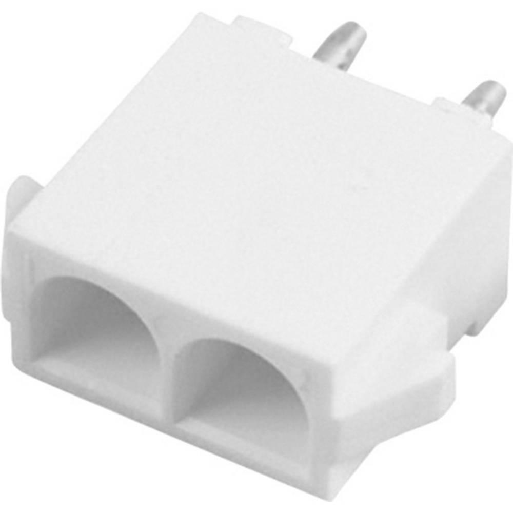 Stiftkabinet-printplade Universal-MATE-N-LOK Samlet antal poler 2 TE Connectivity 350787-1 1 stk